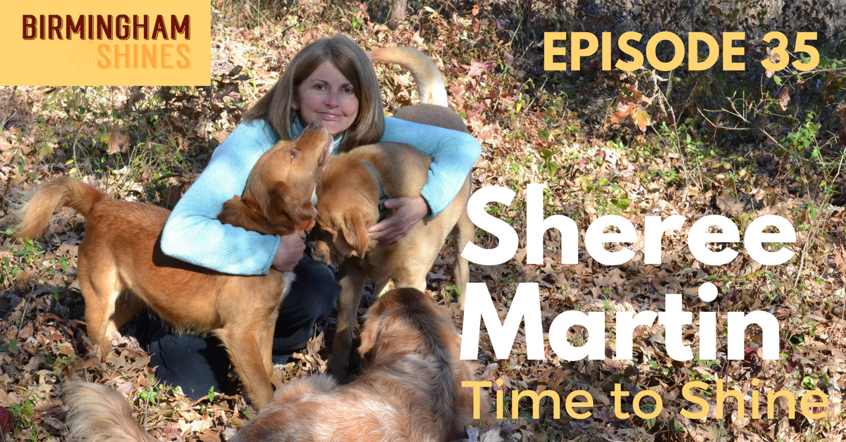 Sheree Martin turns the spotlight on herself in episode 35 of the Birmingham Shines podcast released March 10 2016